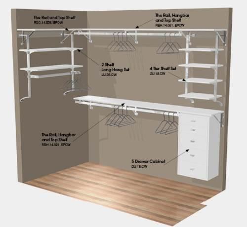 walk in closet designs plans photo - 2