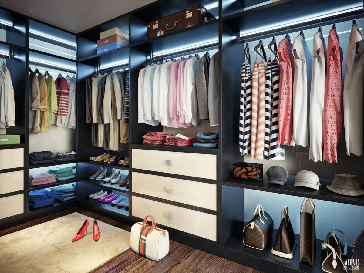 walk in closet designs plans photo - 9