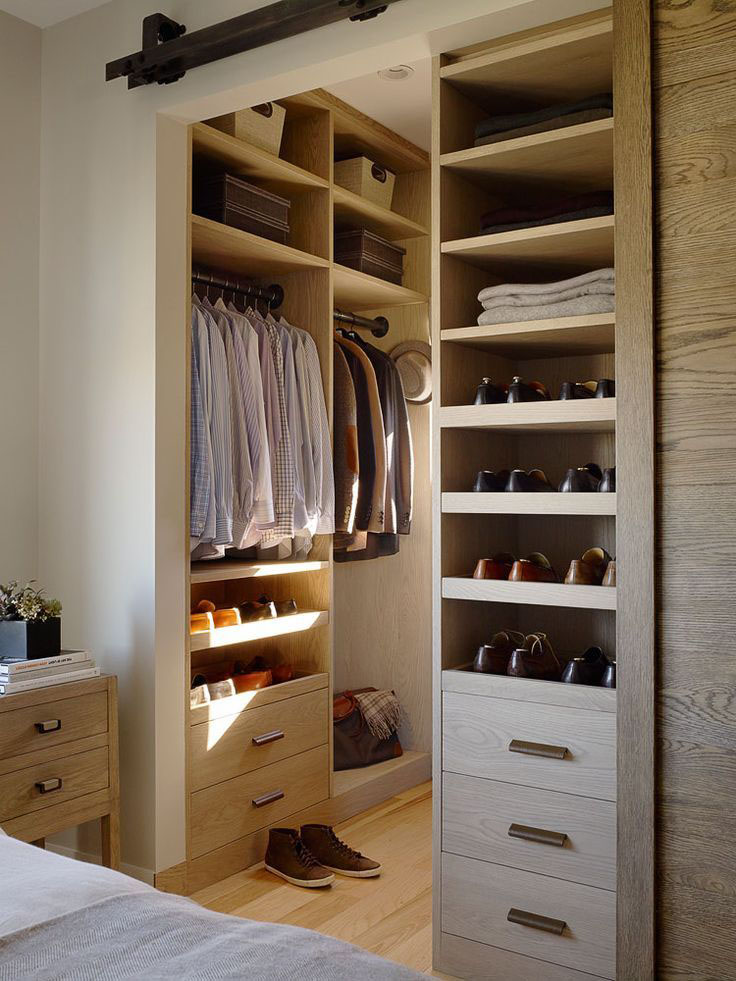 walk in closet door ideas photo - 1