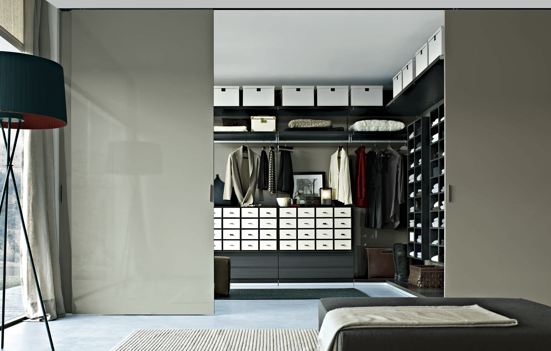 walk in closet door ideas photo - 7