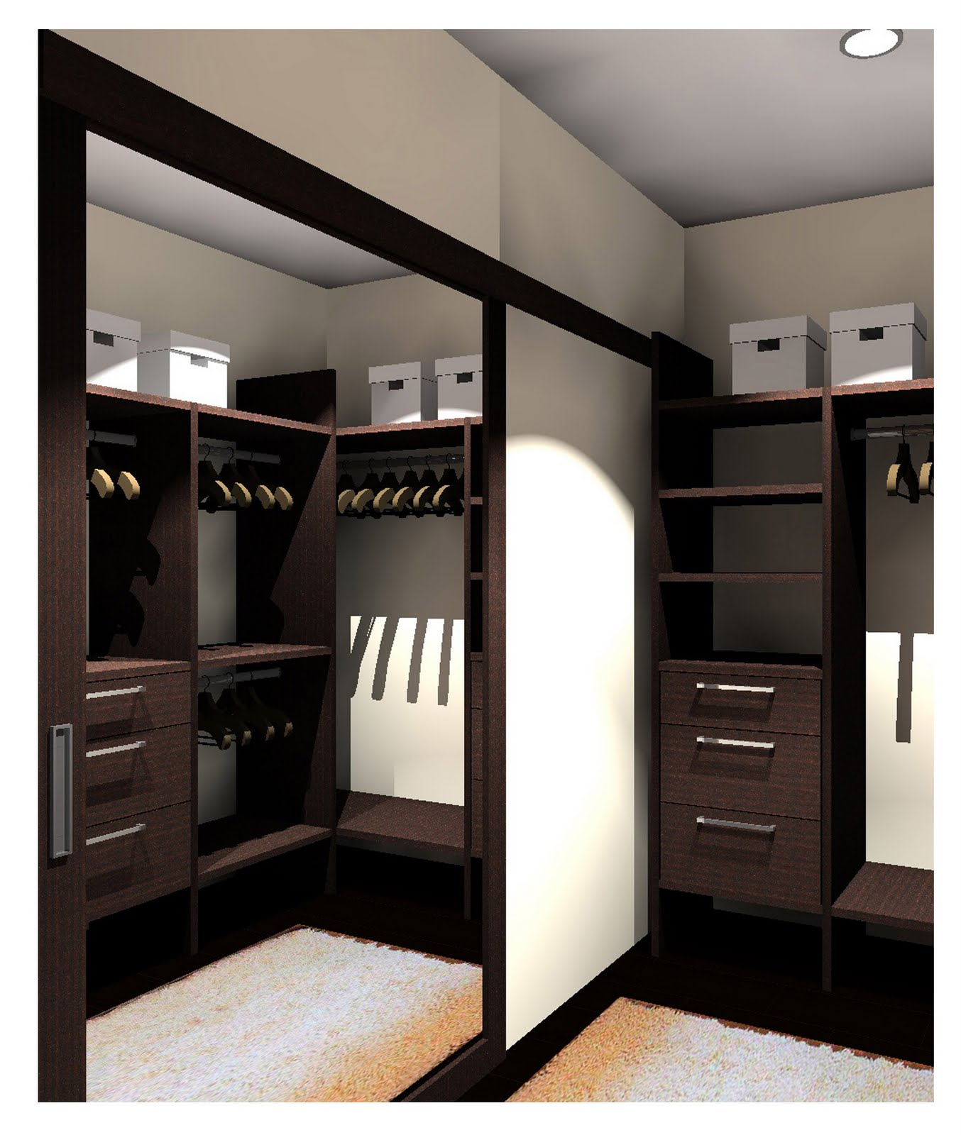 walk in closet door ideas photo - 8
