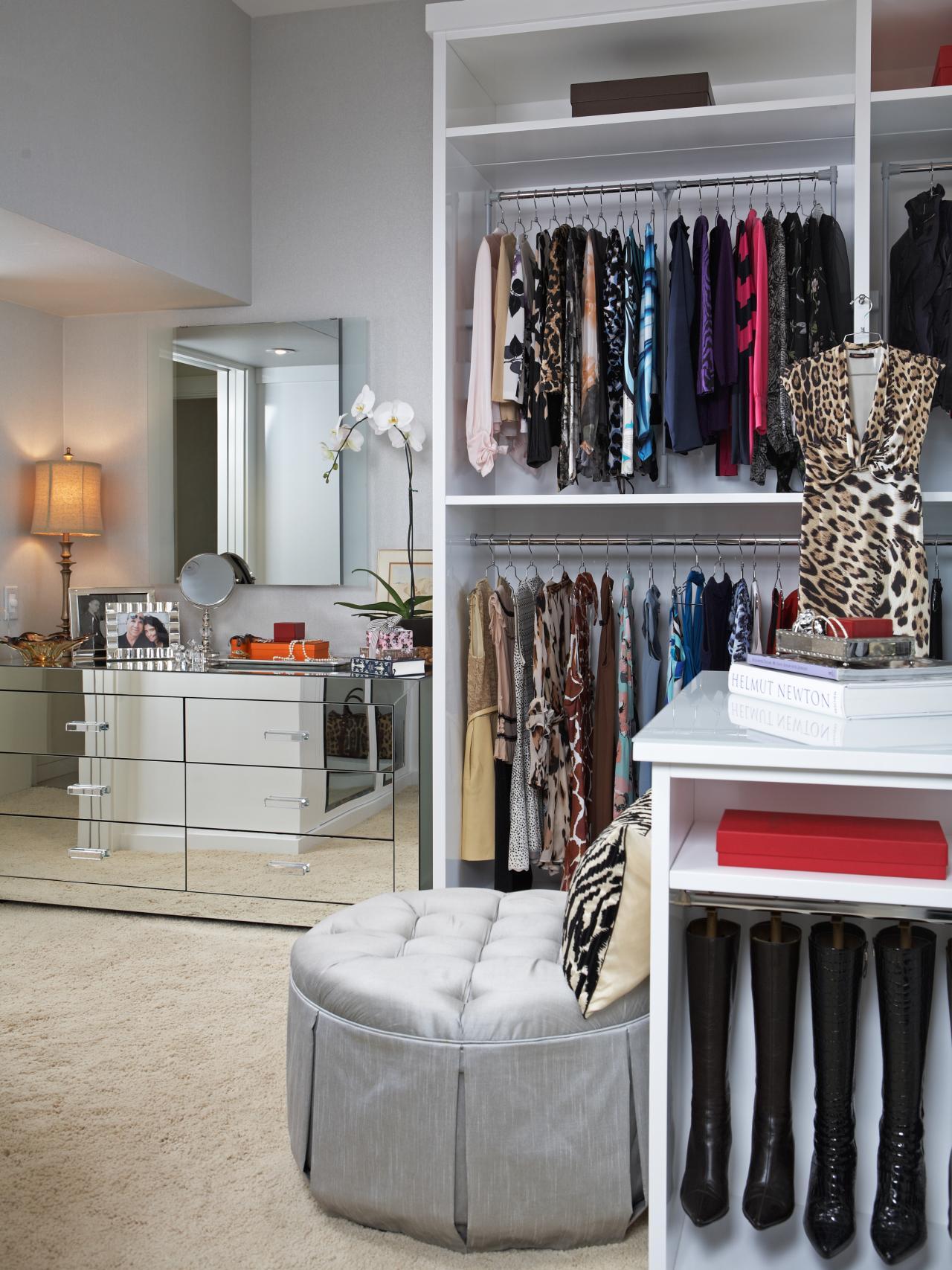 walk in closet dressing room design photo - 1