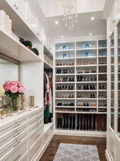 walk in closet dressing room design photo - 10