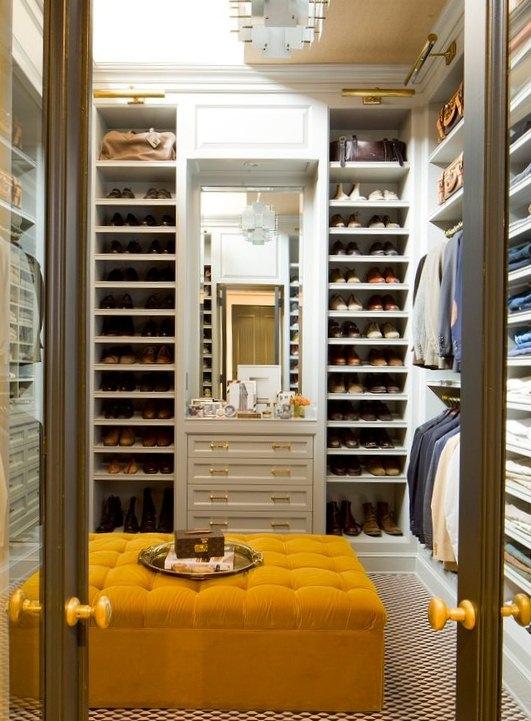 walk in closet dressing room design photo - 4