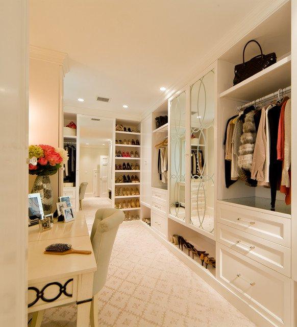walk in closet dressing room design photo - 8