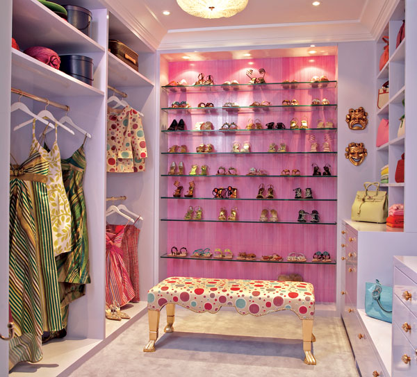 walk-in closet ideas for girls photo - 1