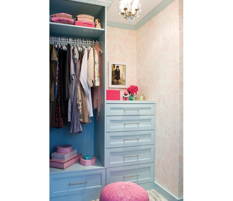 walk-in closet ideas for girls photo - 5