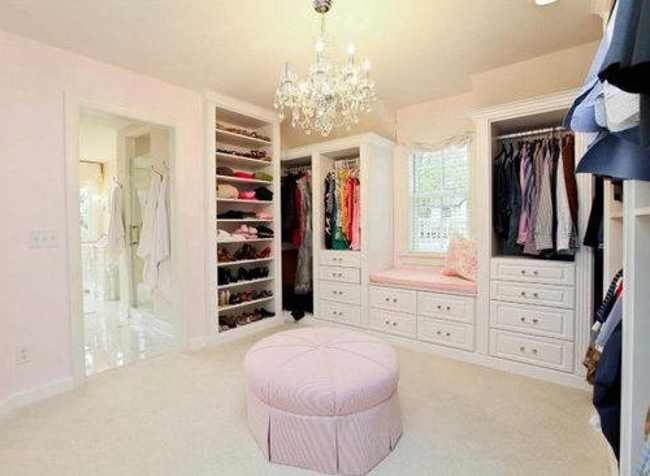 walk-in closet ideas for girls photo - 7