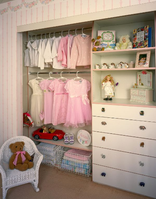 walk-in closet ideas for girls photo - 8