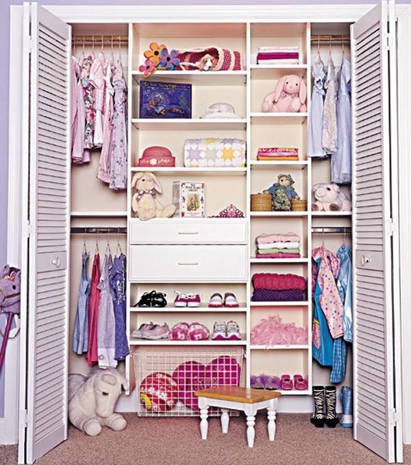 walk in closet ideas for kids photo - 10