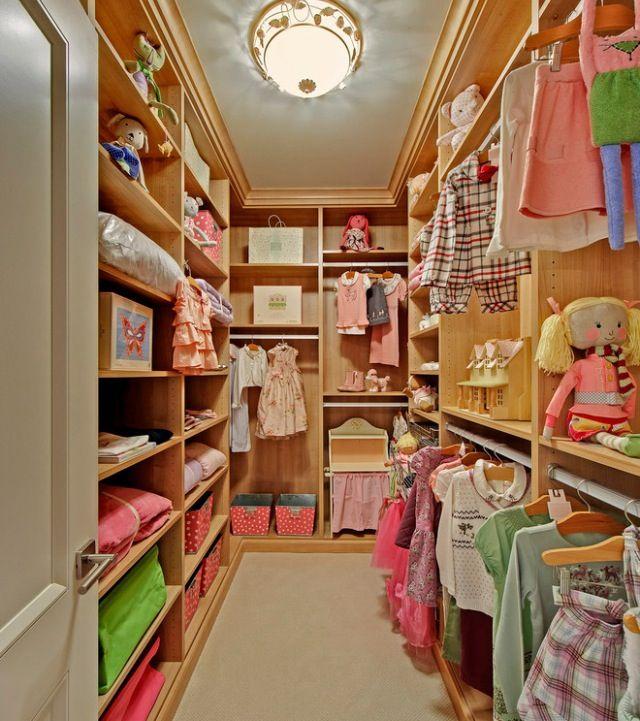 walk in closet ideas for kids photo - 4