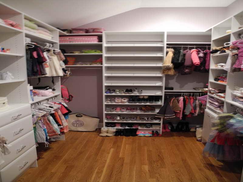walk in closet ideas for kids photo - 9