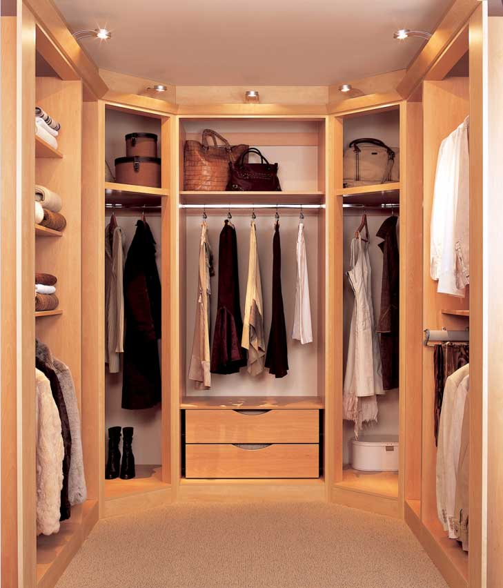 walk-in closet lighting design photo - 1