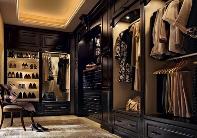 walk-in closet lighting design photo - 10