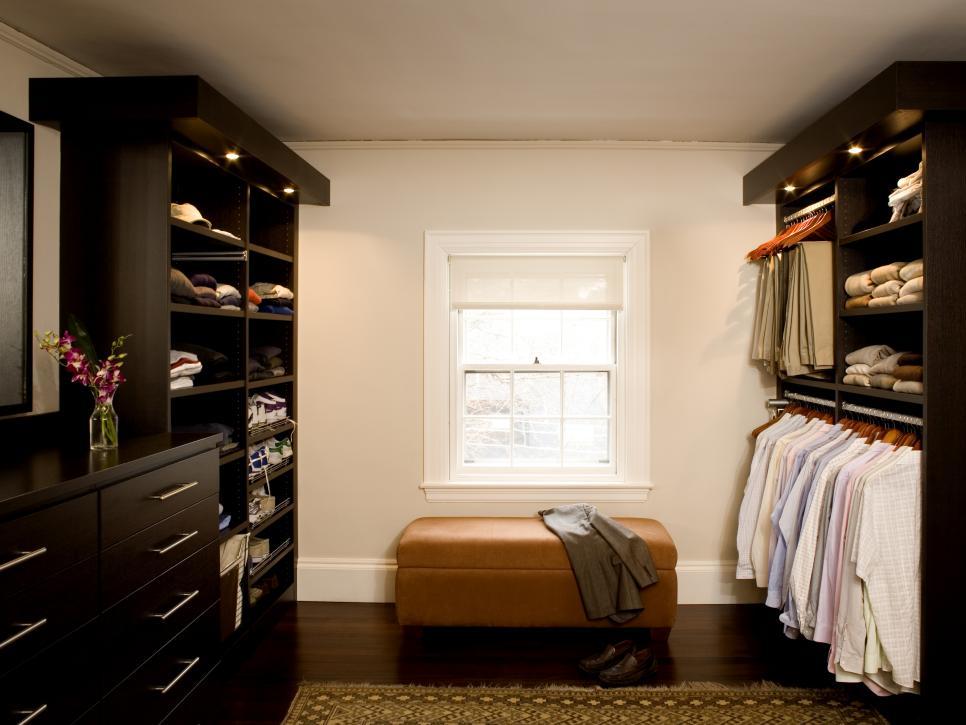 walk-in closet lighting design photo - 3