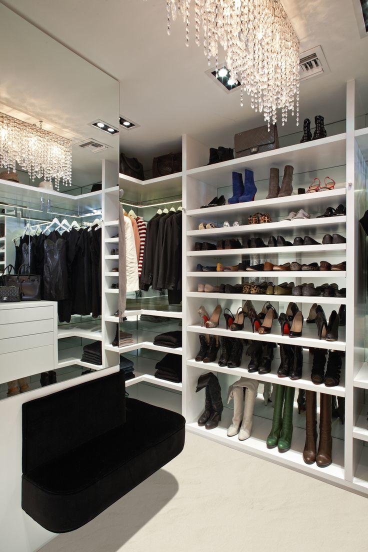 walk-in closet lighting design photo - 4