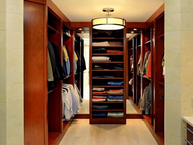walk-in closet lighting design photo - 5