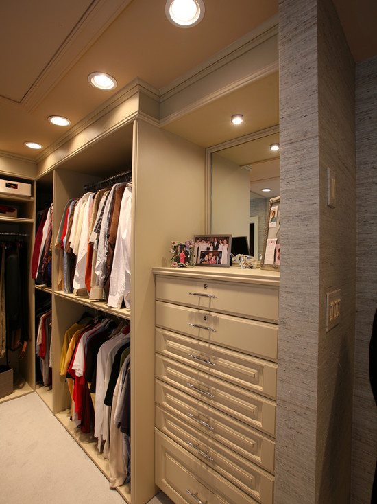 walk-in closet lighting design photo - 8