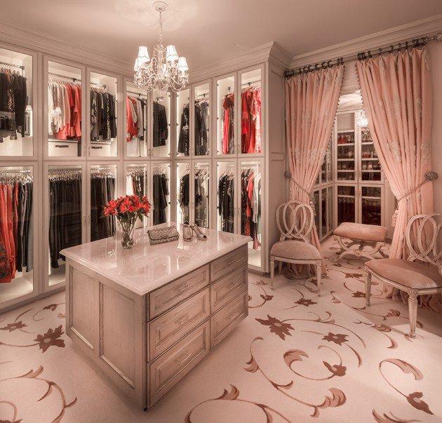 walk in closet luxury design photo - 3