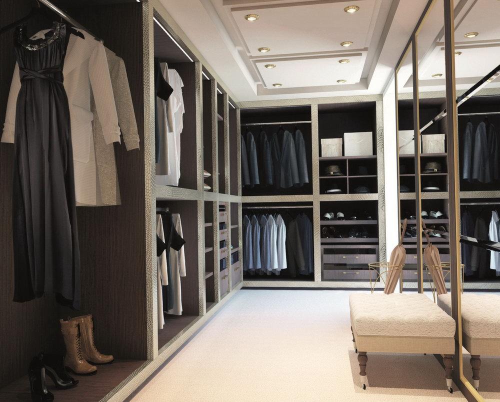 walk in closet luxury design photo - 7
