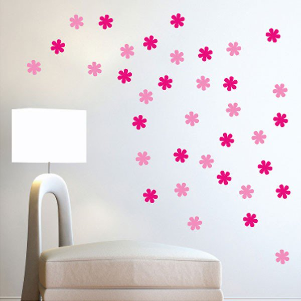 wall decor stickers flowers photo - 4