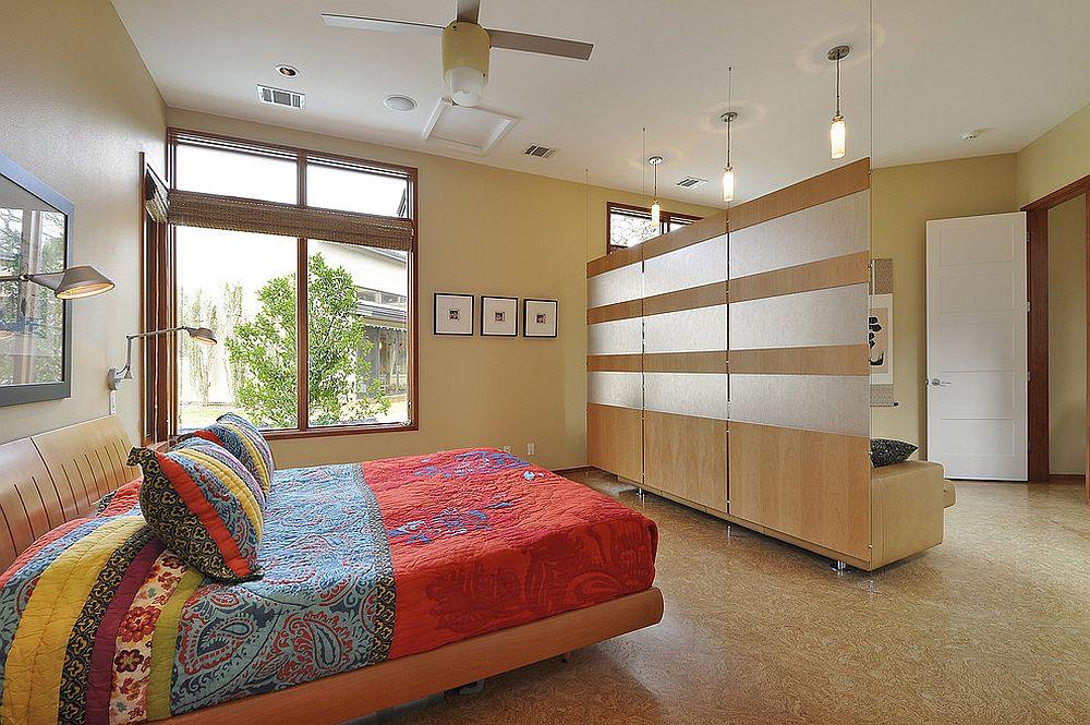 wall divider bedroom photo - 3