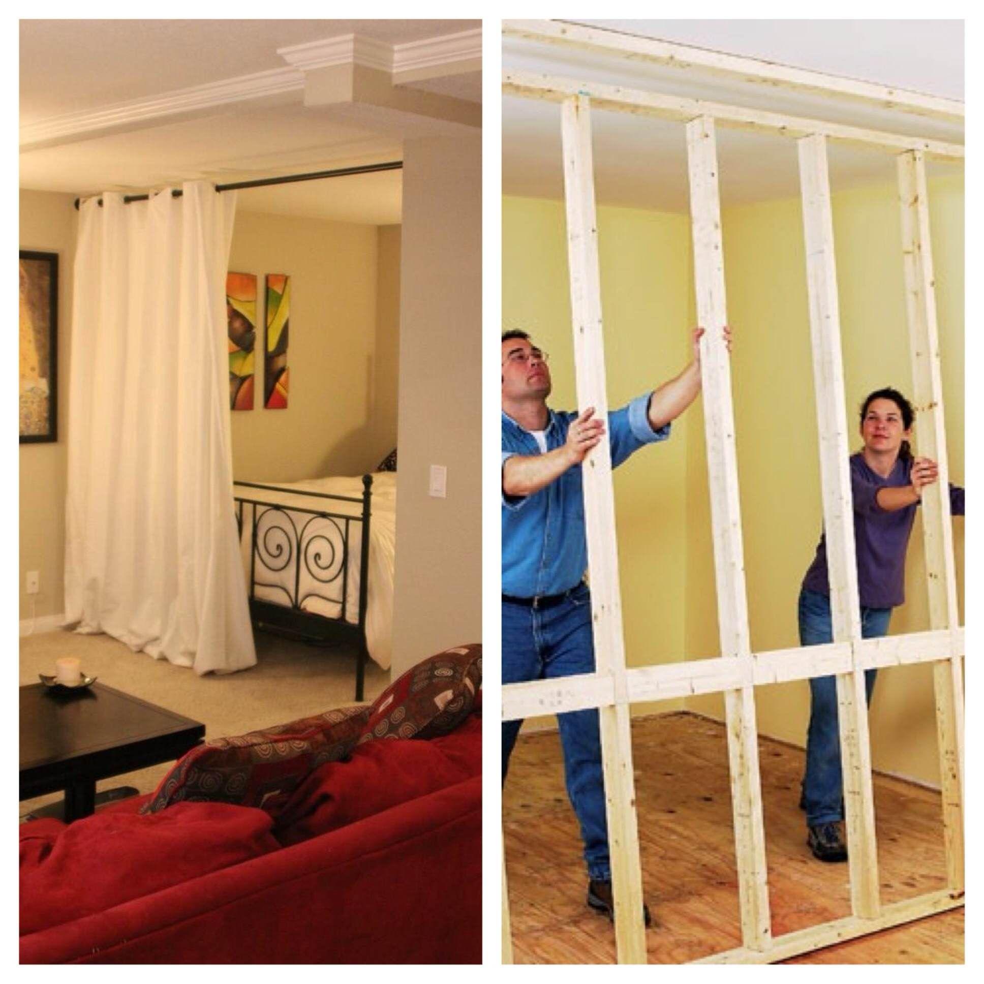 Wall divider bedroom | Hawk Haven