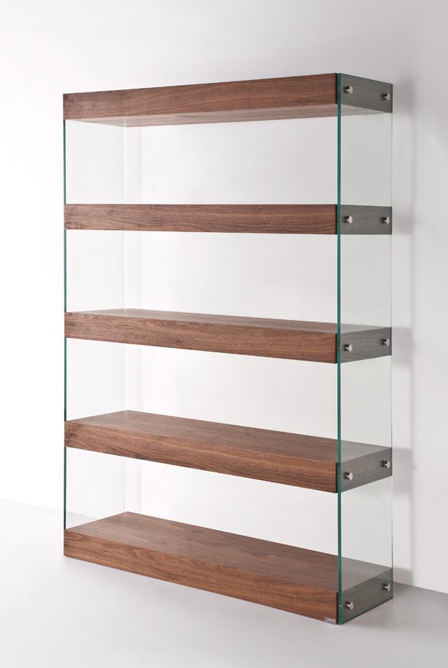 wall divider bookshelf photo - 1