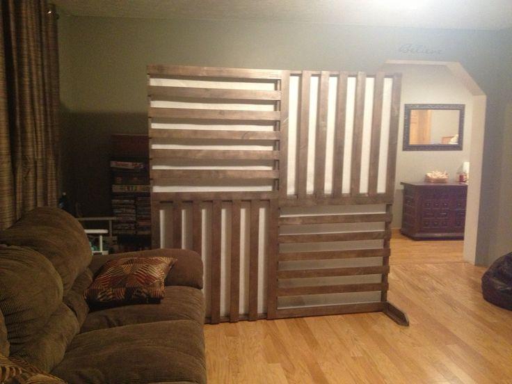 wall dividers diy photo - 1
