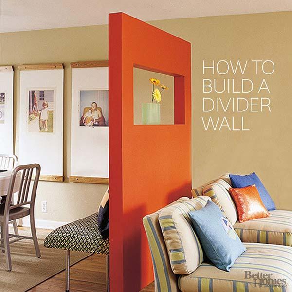 wall dividers diy photo - 3