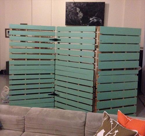 wall dividers diy photo - 5