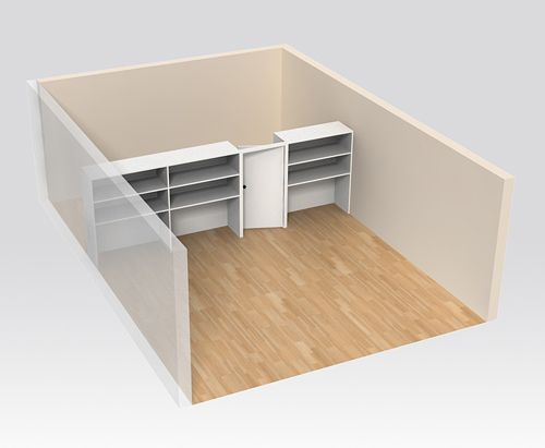 wall dividers for basements photo - 9
