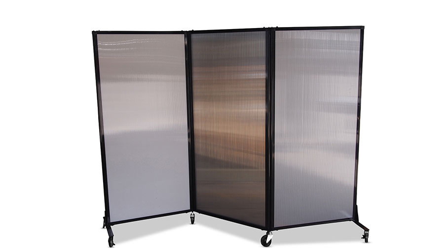 wall dividers on wheels photo - 3