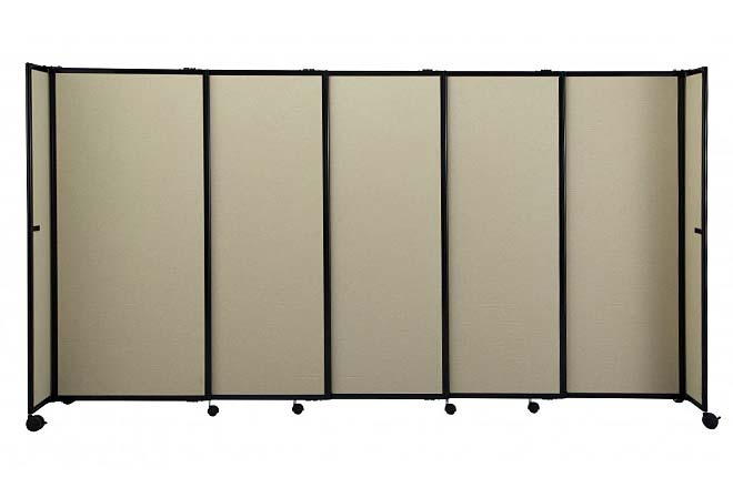 wall dividers on wheels photo - 9