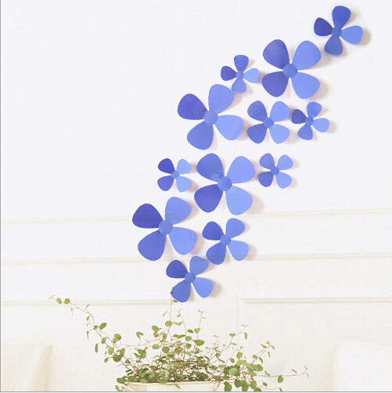 wall flower stickers for kids photo - 7