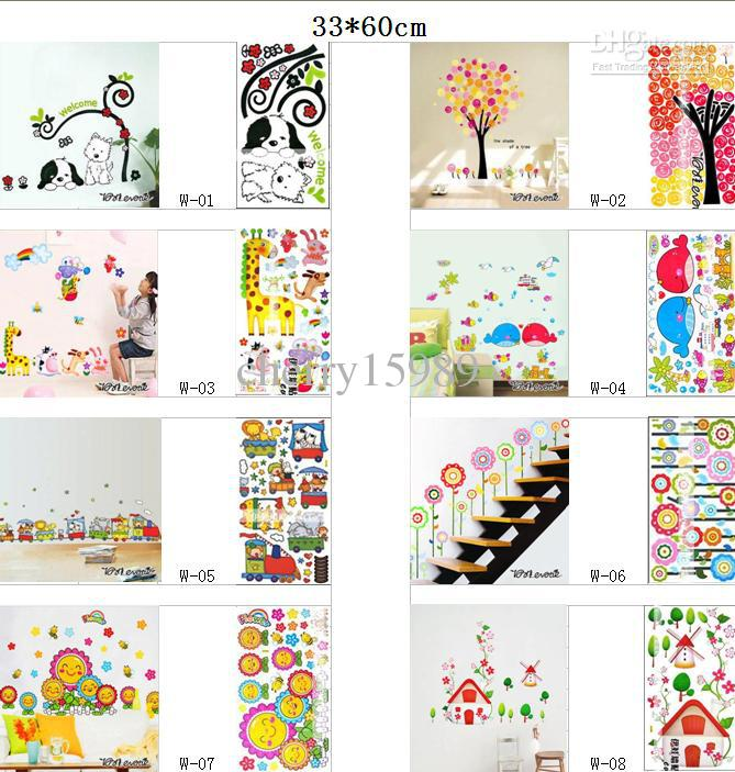 wall flower stickers for kids photo - 9