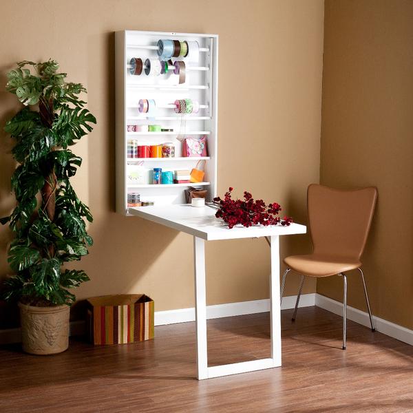 wall mounted art desk photo - 2