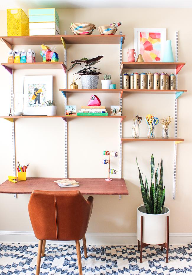 wall mounted art desk photo - 7