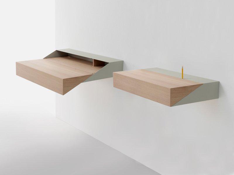 wall mounted desk photo - 1