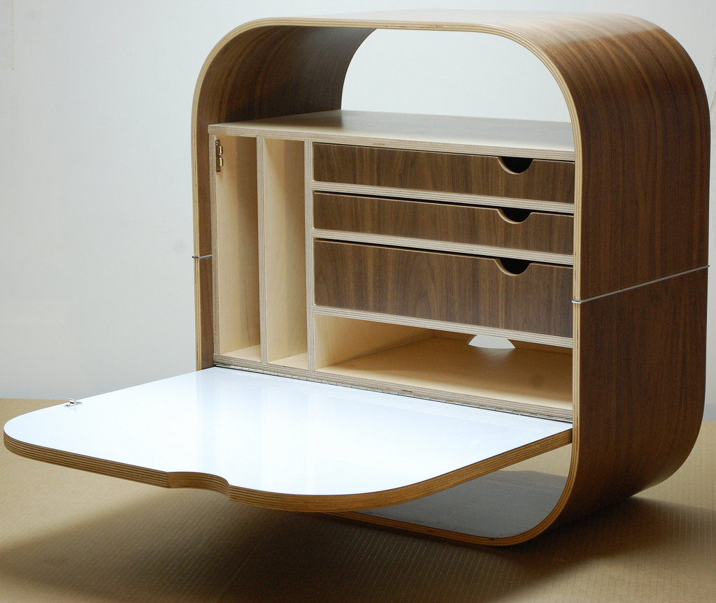 wall mounted desk photo - 5