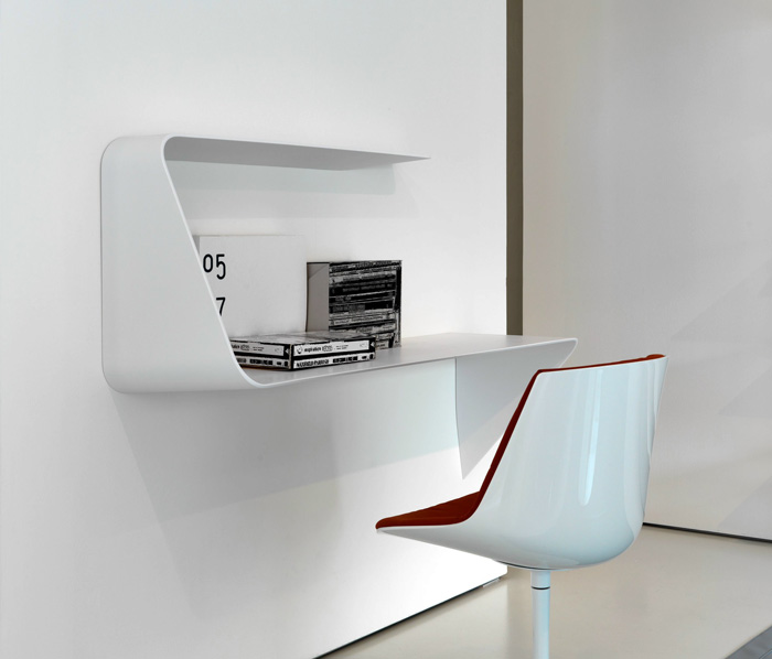 wall mounted desk photo - 8