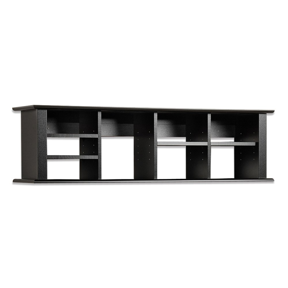 wall mounted desk hutch photo - 1
