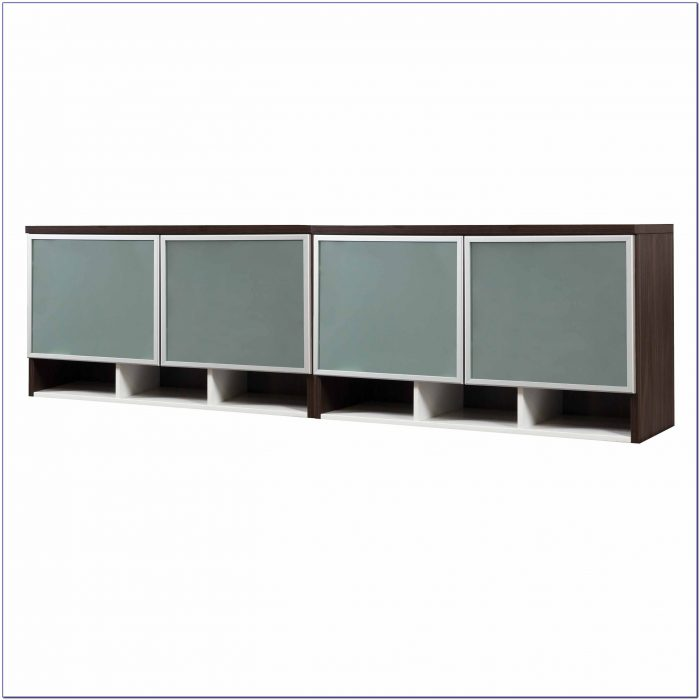 wall mounted desk hutch photo - 9