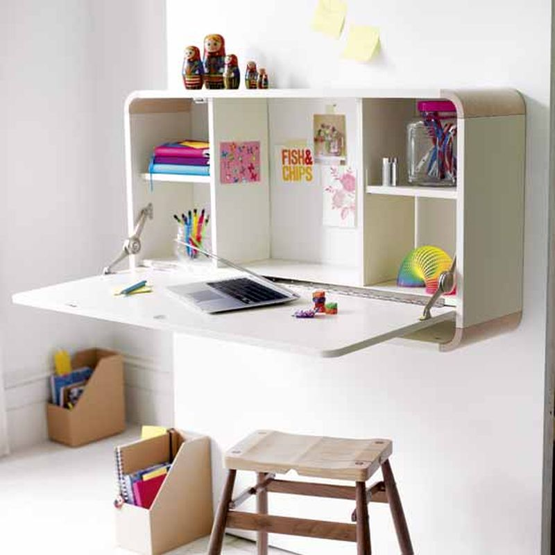 Wall Mounted Desks For Kids Photo   1