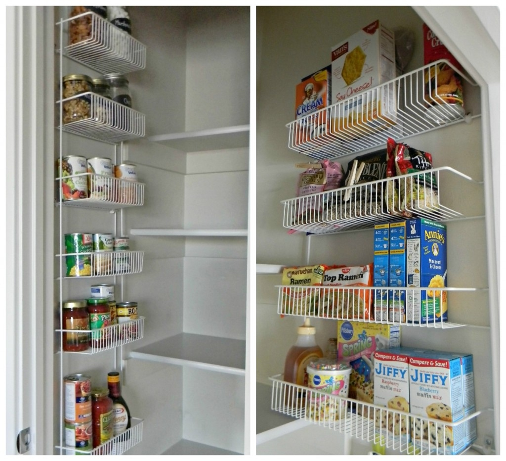 wall mounted pantry shelves photo - 5