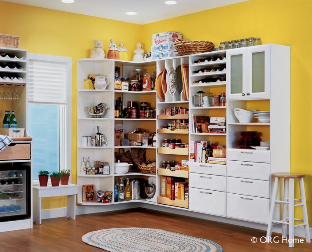 wall mounted pantry shelves photo - 6