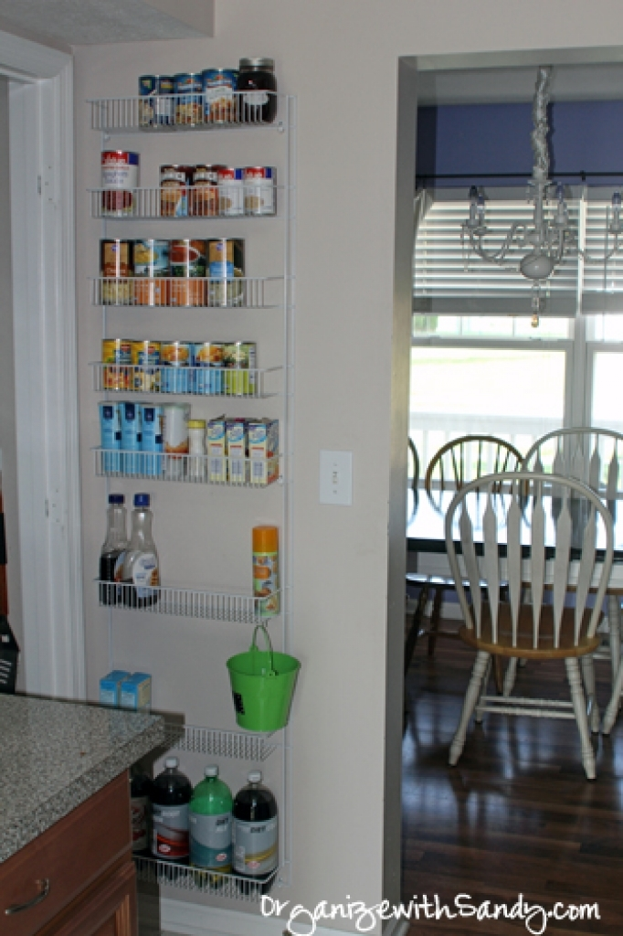 wall mounted pantry shelves photo - 8