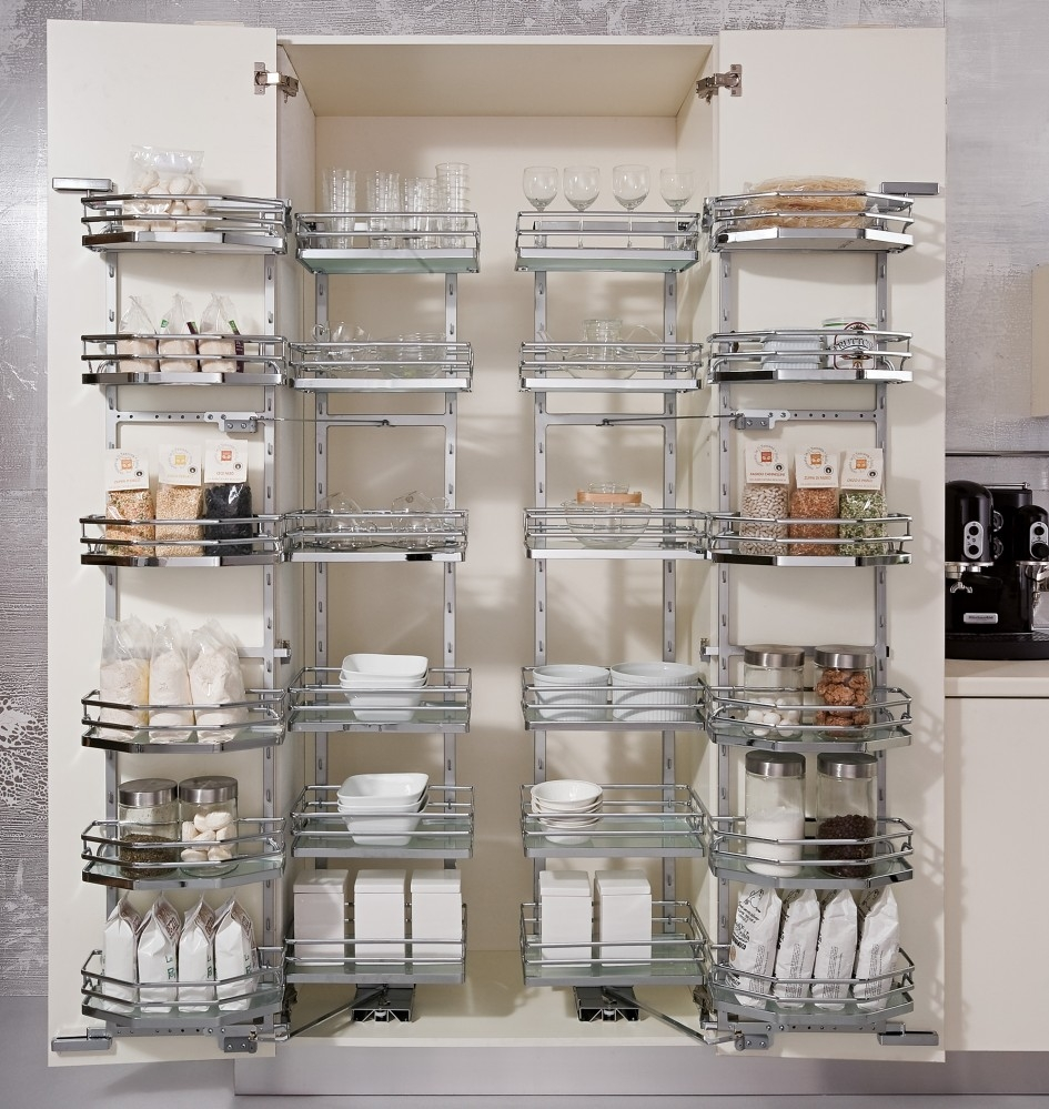 wall mounted pantry shelves photo - 9