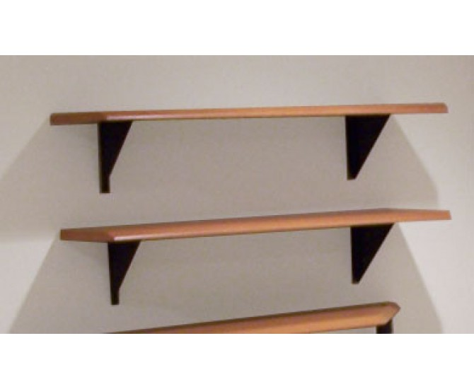 wall mounted picture shelves photo - 1