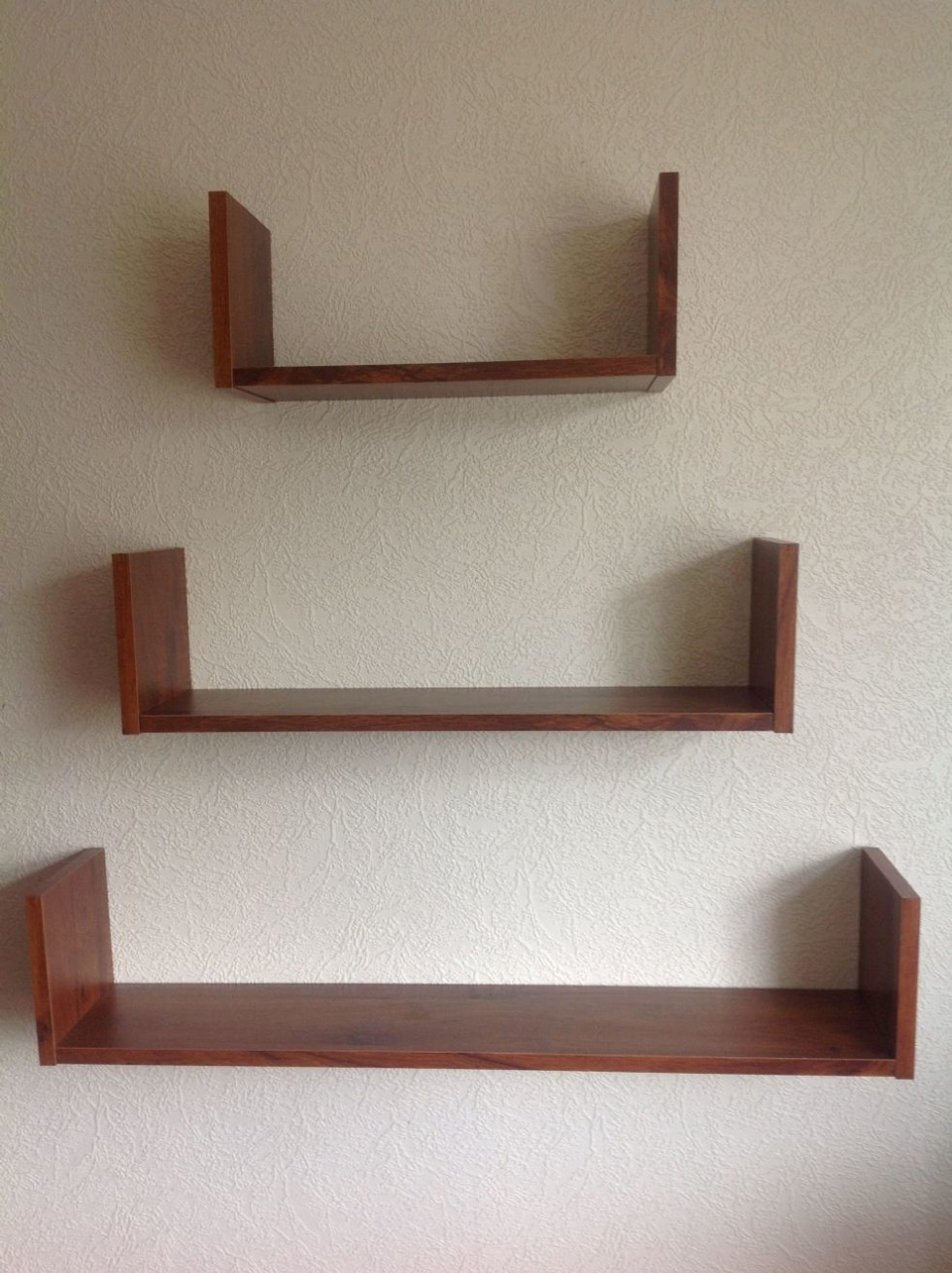 wall mounted picture shelves photo - 4